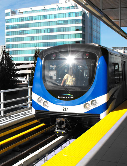 The Large Front Window   Vancouver Light Rail