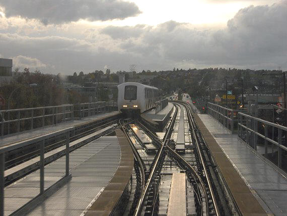 Rain Has Ended   Vancouver Light Rail